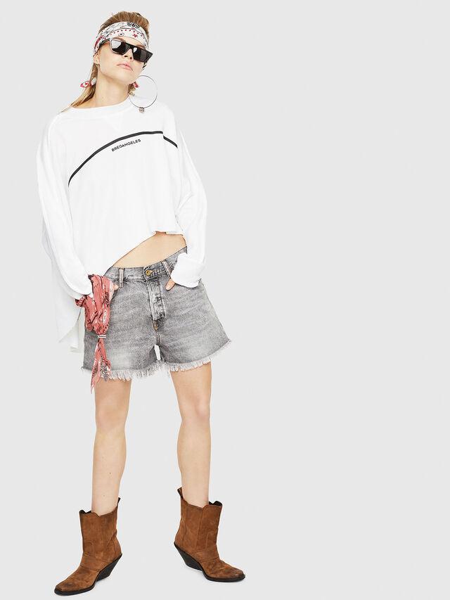 Diesel - F-ZOIE, White - Sweaters - Image 5