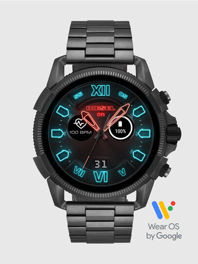 Diesel - DT2011, Metal Grey - Smartwatches - Image 1