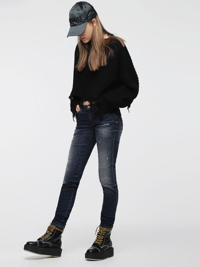 Diesel - Gracey JoggJeans 0686W, Dark Blue - Jeans - Image 3