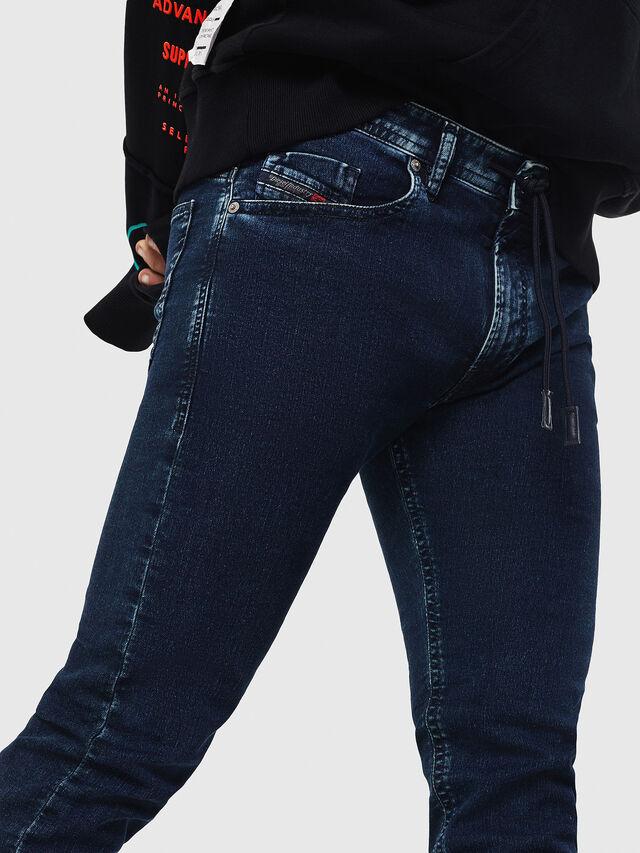 Diesel - Thommer JoggJeans 8880V, Dark Blue - Jeans - Image 3