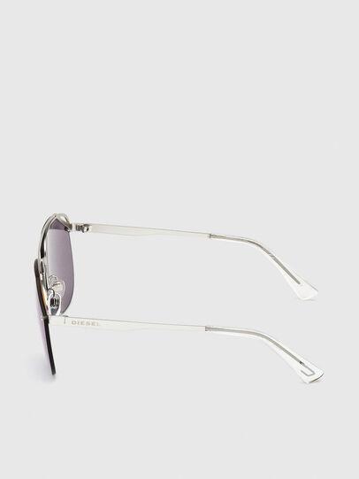Diesel - DL0314, White/Blue - Sunglasses - Image 3