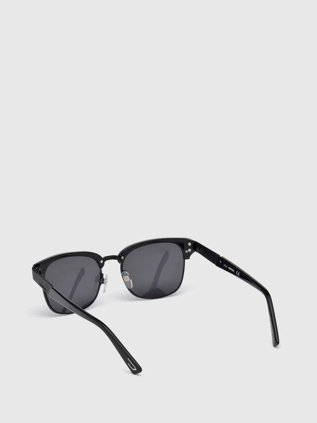 Diesel DL0235, Black - Eyewear - Image 4