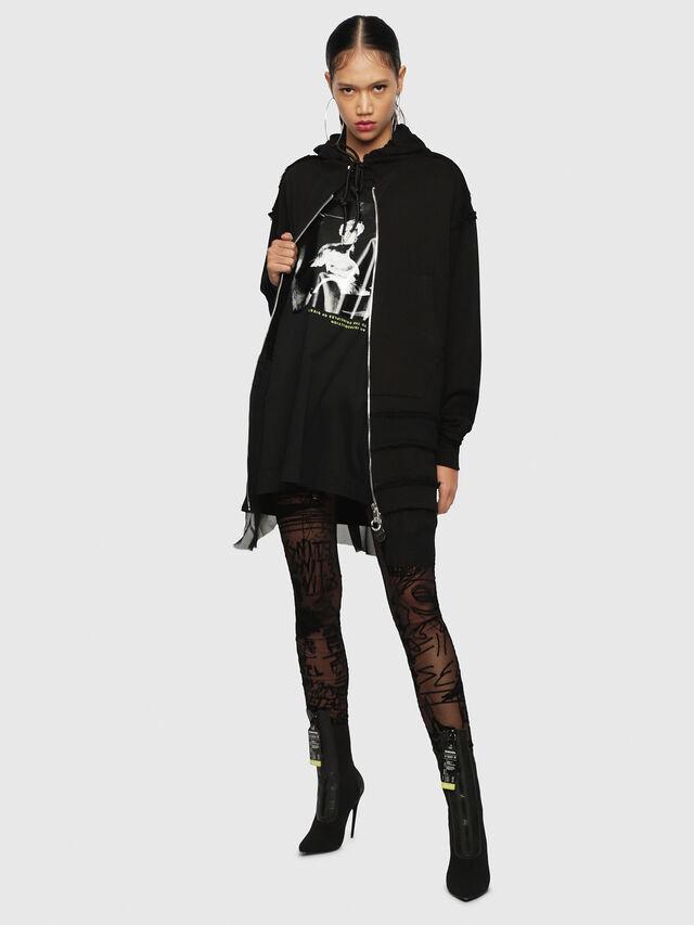 Diesel - F-TURE, Black - Sweaters - Image 4