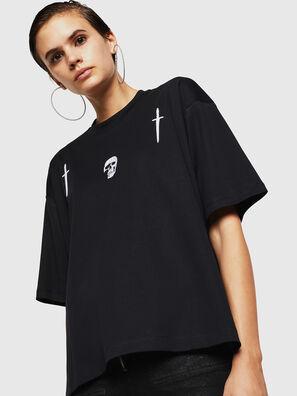 TELIX-A, Black - T-Shirts