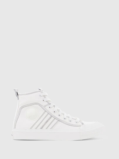 Diesel - S-ASTICO MID LACE W, White - Sneakers - Image 1