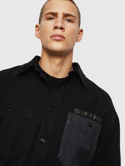 Diesel - S-LEBED, Black - Shirts - Image 3