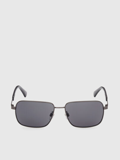 Diesel - DL0354, Grey - Sunglasses - Image 1
