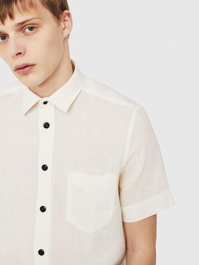 Diesel - S-KIRUMA, White - Shirts - Image 4
