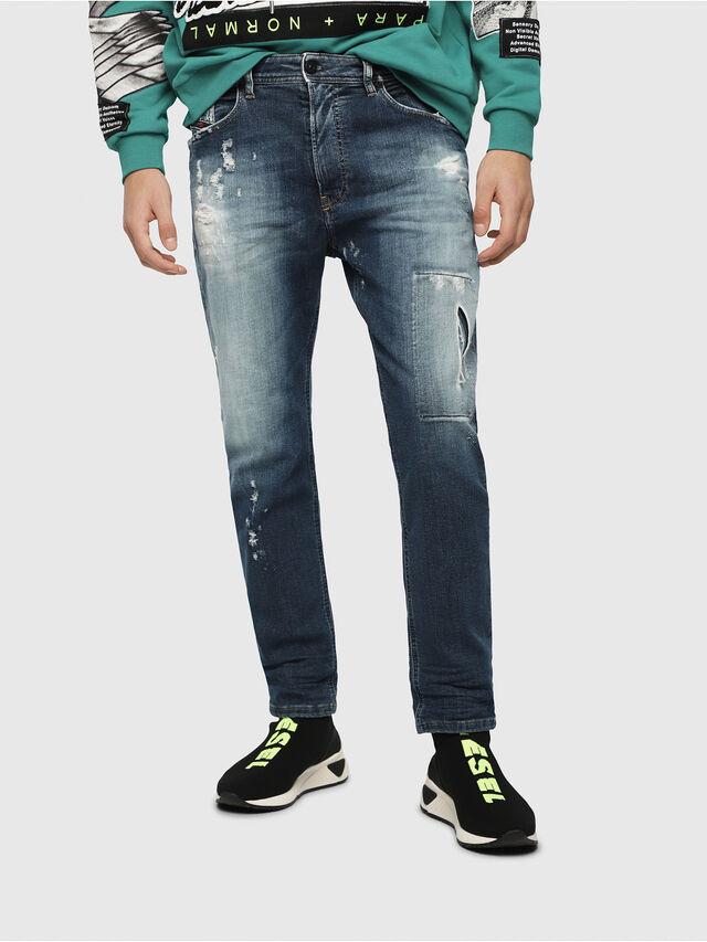 Diesel - Narrot JoggJeans 087AK, Dark Blue - Jeans - Image 1