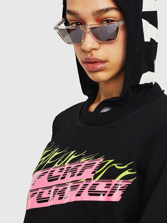 Diesel - F-LYANY-C, Black - Sweaters - Image 3