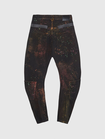 Diesel - TYPE-2018-NE, Black/Dark grey - Jeans - Image 2