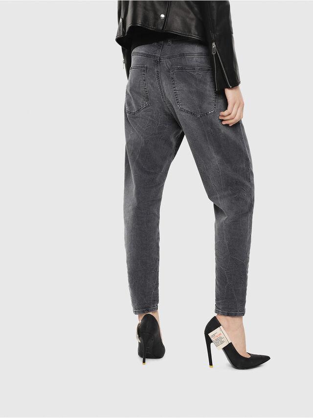 Diesel - Candys JoggJeans 069EP, Black/Dark grey - Jeans - Image 2