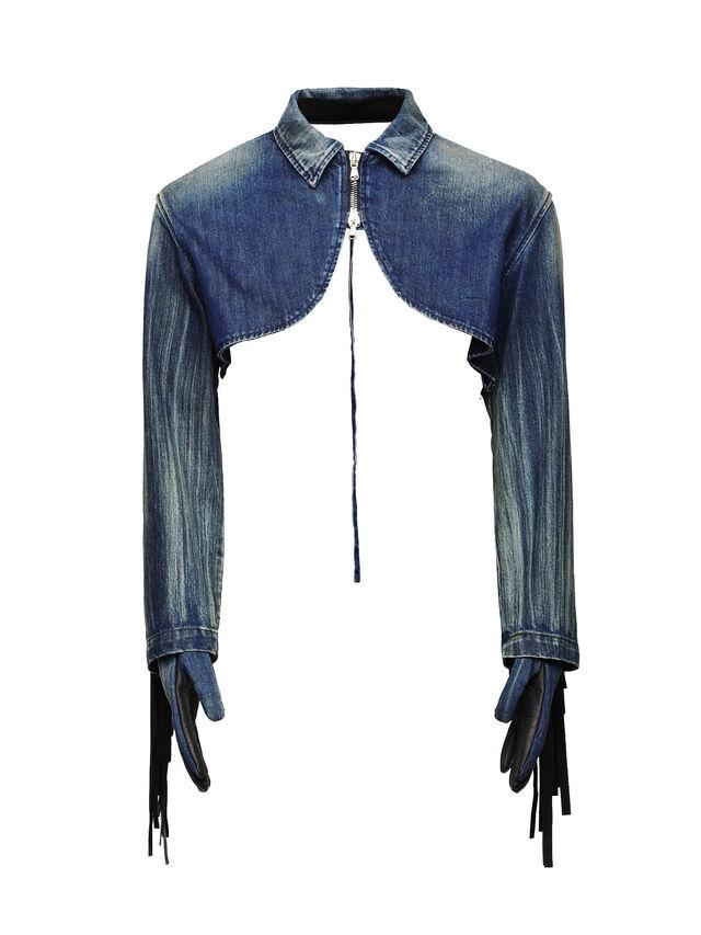 Diesel - SOGLV01-KIT, Blue Jeans - Gloves - Image 1