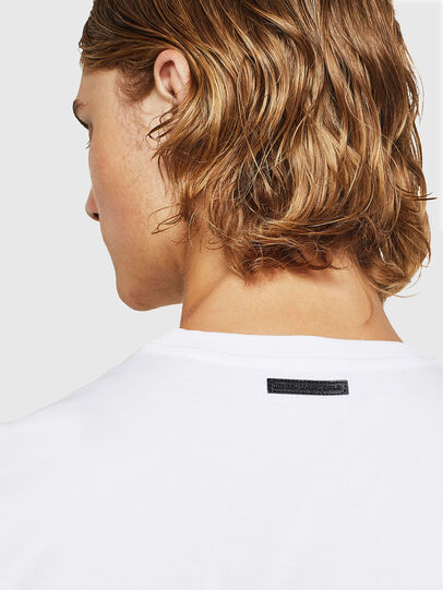 Diesel - TY-X1, White - T-Shirts - Image 3