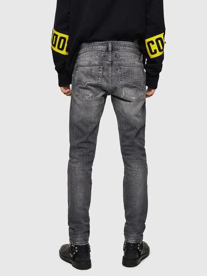 Diesel - D-Bazer 0890F, Light Grey - Jeans - Image 2