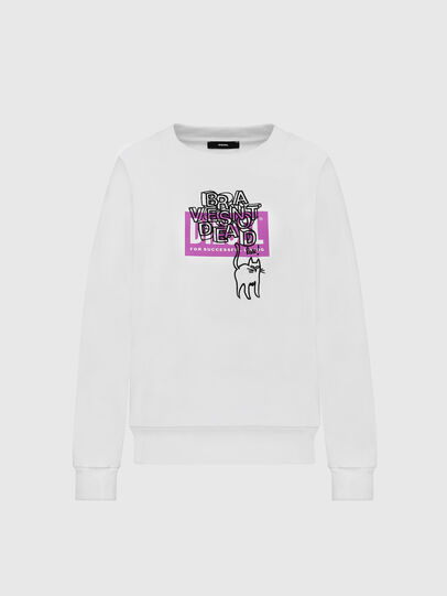 Diesel - F-MAGDA-E40, White - Sweaters - Image 1