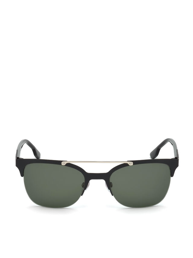 Diesel - DL0215, Black - Sunglasses - Image 1
