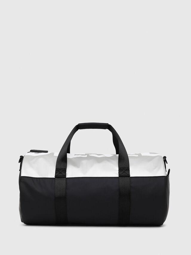 Diesel - BOLD DUFFLE, Black/Silver - Bags - Image 1