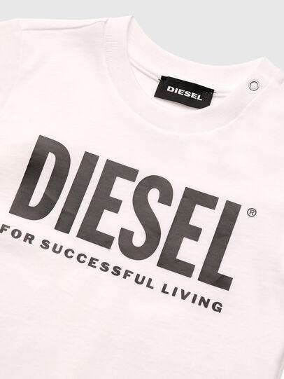 Diesel - TJUSTLOGOB, White - T-shirts and Tops - Image 3