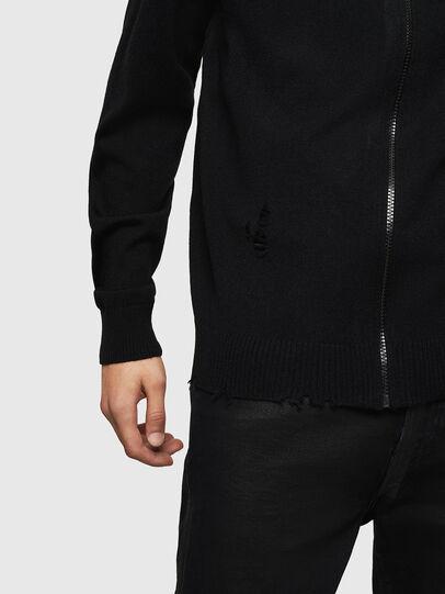 Diesel - K-ECLY, Black - Knitwear - Image 3