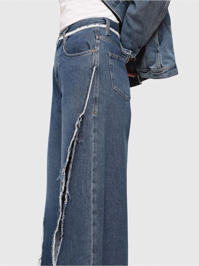 Diesel - D-Izzier 080AN, Medium blue - Jeans - Image 3