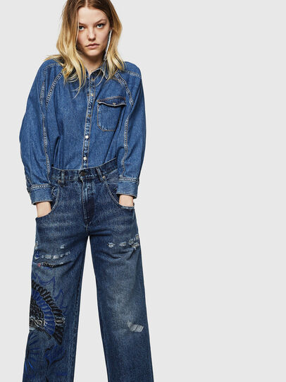 Diesel - Widee 0092Z, Medium blue - Jeans - Image 3