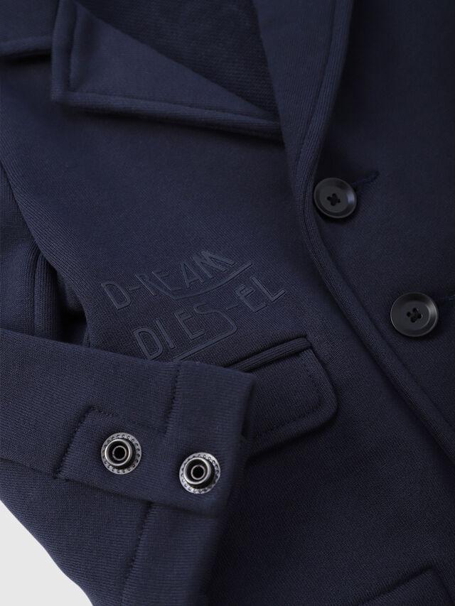 Diesel - SILKEB, Dark Blue - Sweaters - Image 3