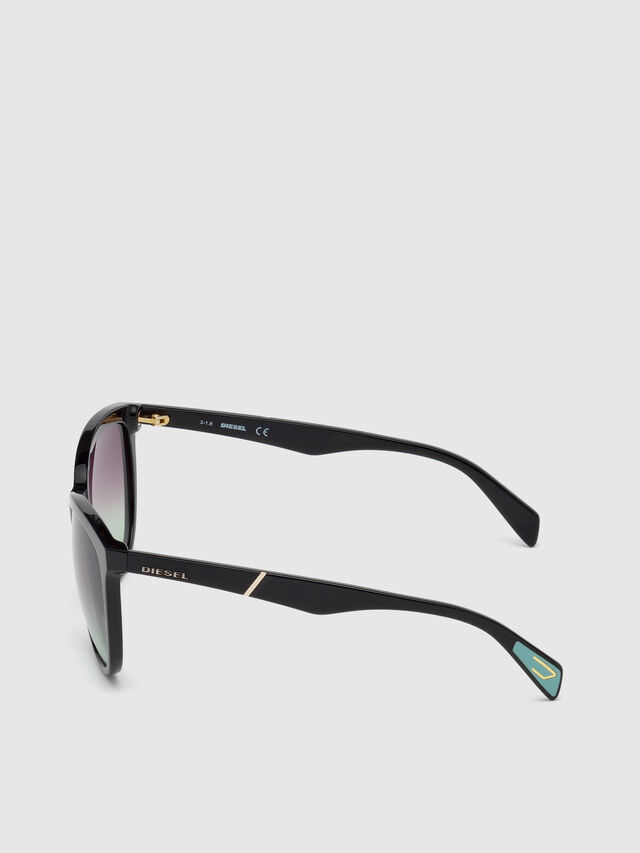 Diesel DL0221, Black - Eyewear - Image 3
