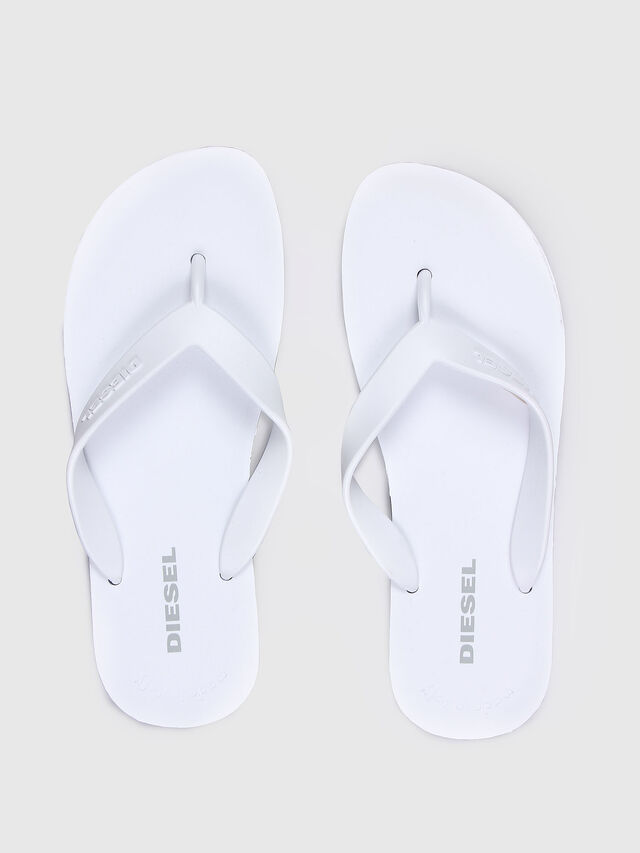Diesel - SPLISH, White - Slippers - Image 2