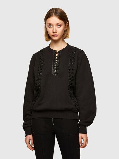 Diesel - F-ANAIT, Black - Sweaters - Image 1