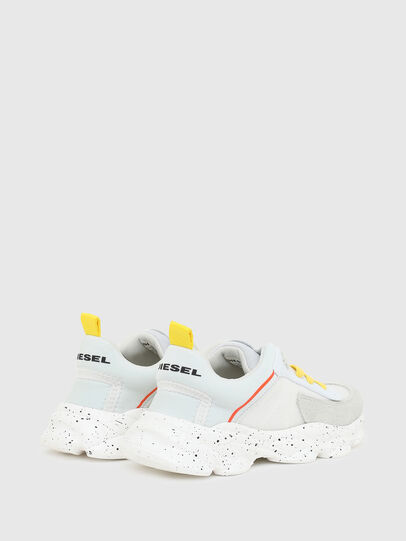 Diesel - S-SERENDIPITY LC CH, White/Yellow - Footwear - Image 3