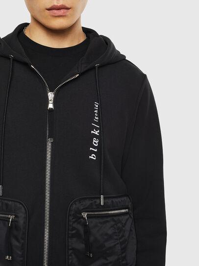 Diesel - S-SKRA, Black - Sweaters - Image 5