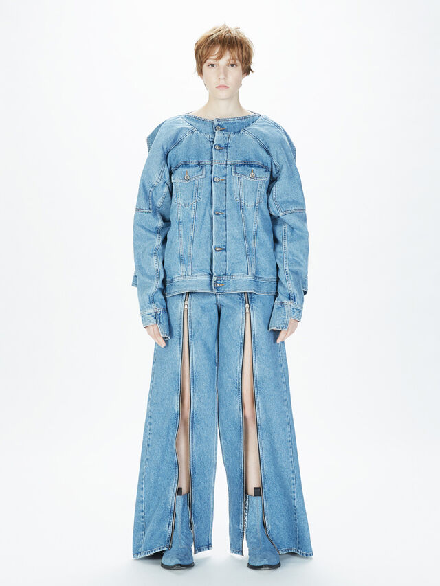 Diesel - SOWL01, Light Blue - Pants - Image 7