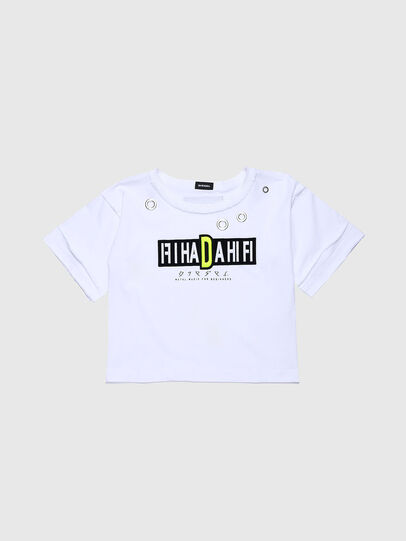 Diesel - TJACKYC, White - T-shirts and Tops - Image 1