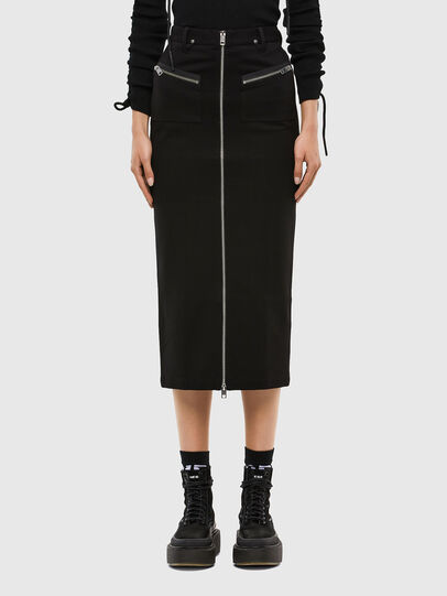 Diesel - O-SIA, Black - Skirts - Image 1