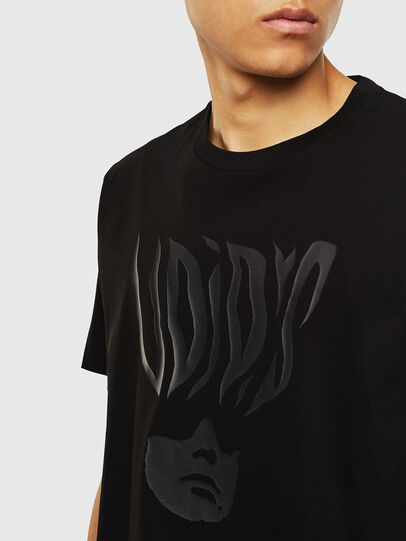 Diesel - T-JUST-J10, Black - T-Shirts - Image 3
