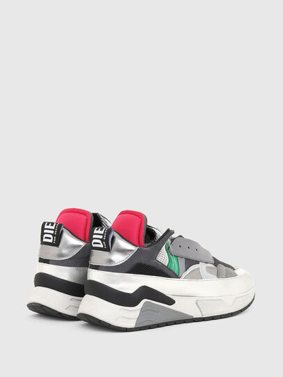 Diesel - S-BRENTHA DEC, Grey - Sneakers - Image 3