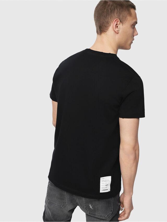 Diesel - T-DIEGO-Y4, Black - T-Shirts - Image 2