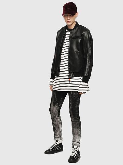 Diesel - L-YUTAKIS,  - Leather jackets - Image 4