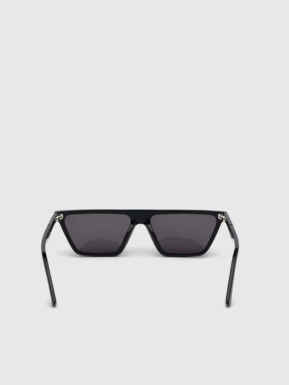 Diesel - DL0304, Black - Sunglasses - Image 4