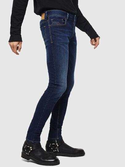Diesel - Sleenker 084RI, Dark Blue - Jeans - Image 4