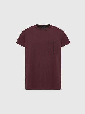 T-RUBIN-POCKET-J1, Red - T-Shirts