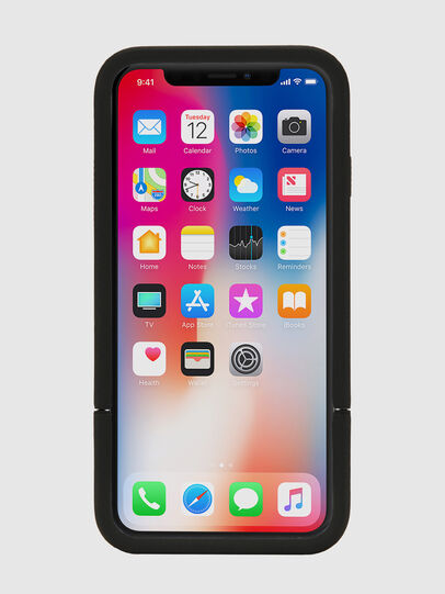 Diesel - CREDIT CARD IPHONE X CASE, Black - Cases - Image 6