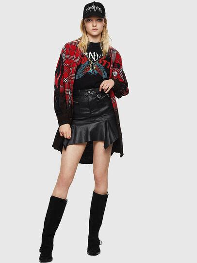Diesel - L-BRYA, Black - Skirts - Image 6