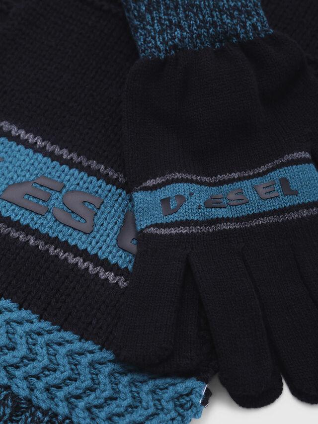 Diesel - CADO-KIT, Black/Blue - Scarf - Image 2