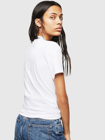 Diesel - T-SILY-WN, White/Pink - T-Shirts - Image 2
