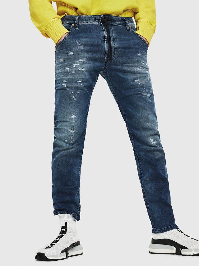 Diesel - Krooley JoggJeans 069HA, Medium blue - Jeans - Image 1