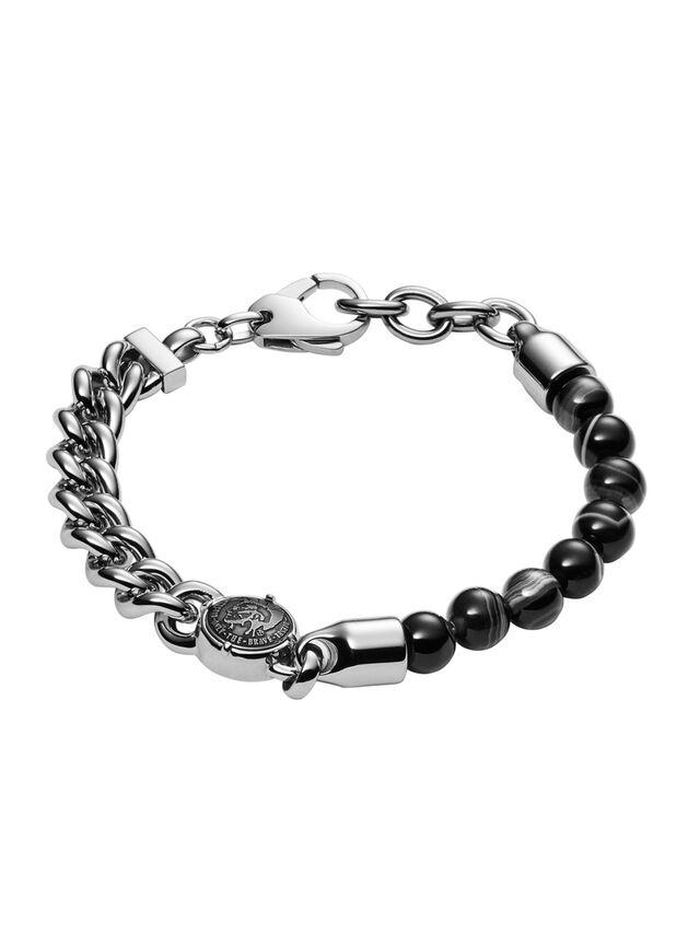 Diesel - BRACELET DX0994, Silver - Bracelets - Image 1