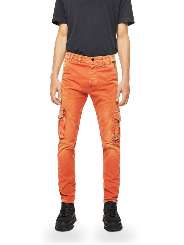 Diesel - TYPE-2910, Orange - Jeans - Image 1