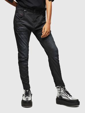 Fayza JoggJeans 069GP, Black/Dark grey - Jeans